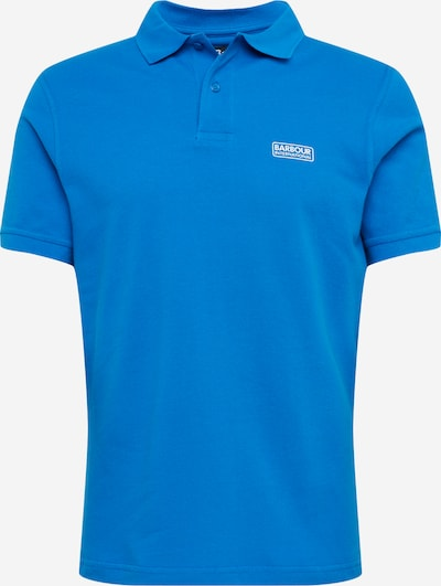 Barbour International Poloshirt 'International Essentuial' in royalblau, Produktansicht