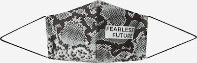 Mască de stofă 'Fearless Future' PHYNE pe negru / alb, Vizualizare produs