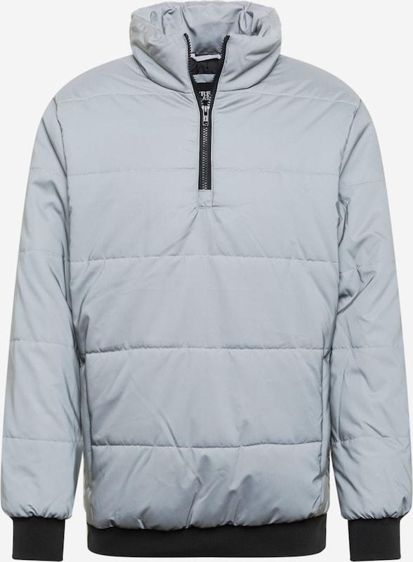 Urban Classics Herren Hooded Check Puffer Jacket Jacke