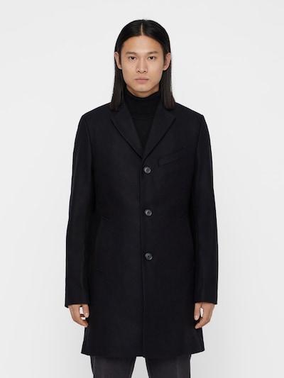J.Lindeberg 'Wolger Compact Melton' Mantel in schwarz, Modelansicht