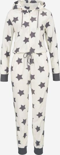 VIVANCE Pidžama u ecru/prljavo bijela / siva, Pregled proizvoda