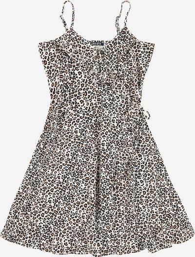 BLUE SEVEN Kleid in braun / weiß, Produktansicht
