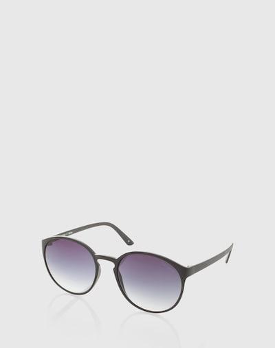 Occhiali da sole 'Swizzle' LE SPECS di colore nero: Vista frontale