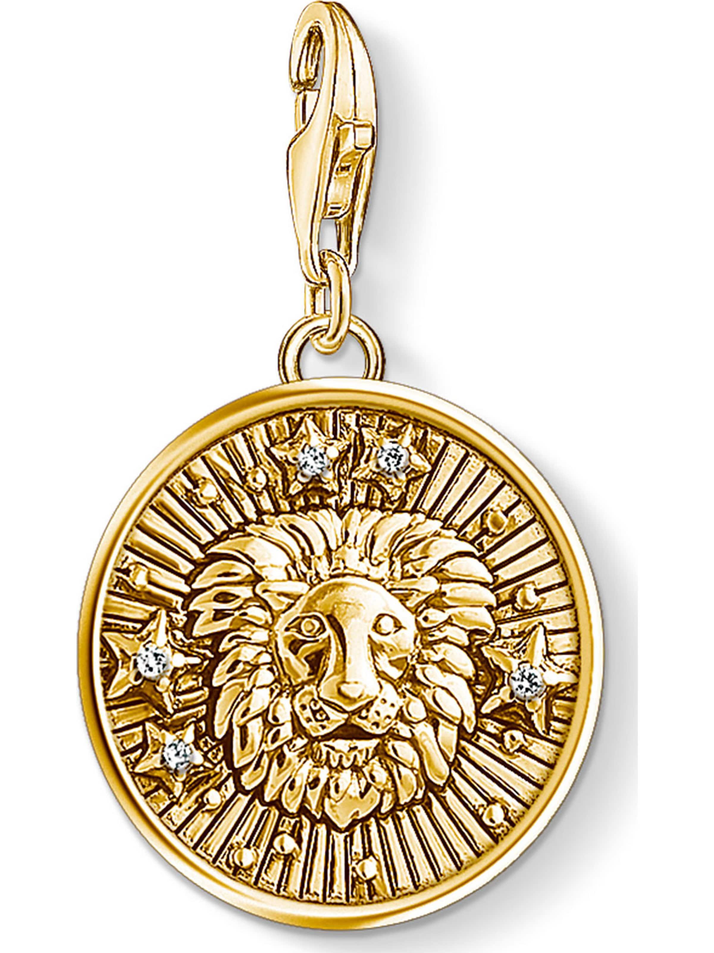 Gold Thomas Sabo Sabo Thomas Charm In Charm N0Pk8XwnZO