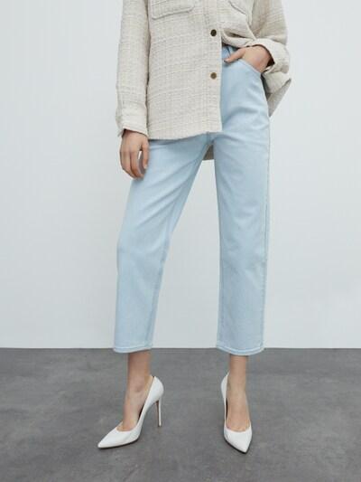 Jeans 'Mirea' EDITED pe albastru deschis, Vizualizare model