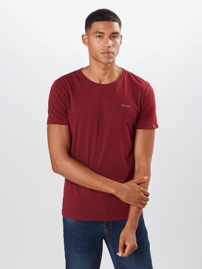 Ragwear T-Shirt 'NEDIE' in weinrot: Frontalansicht