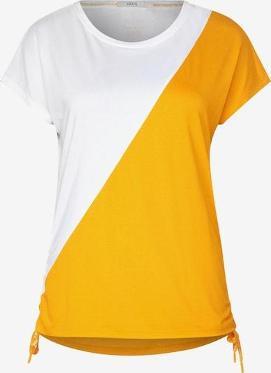 CECIL T-Shirt in gelb, Produktansicht