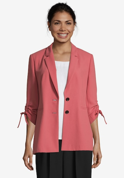 Betty & Co Longblazer mit Raffung in rot, Modelansicht