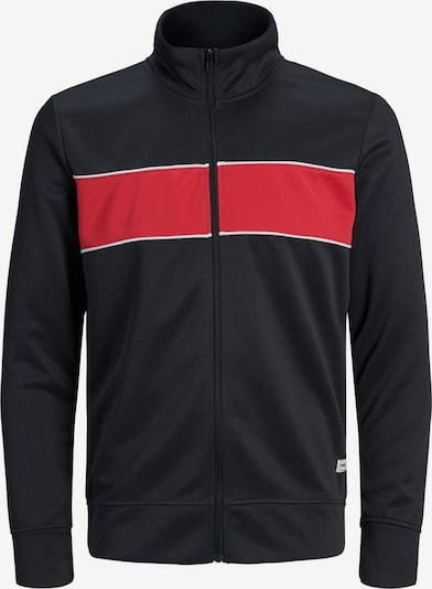 Produkt Jacke in rot / schwarz / weiß, Produktansicht