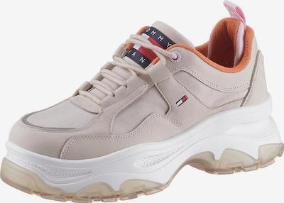 Tommy Jeans Sneaker in kitt / orange / rosa, Produktansicht