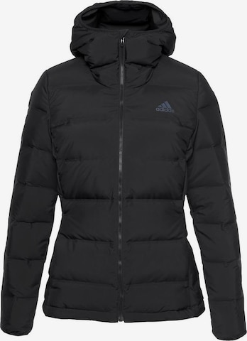 ADIDAS PERFORMANCE Outdoor Jacket 'Helionic' in Black