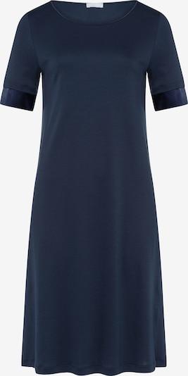 Hanro Nachthemd in de kleur Donkerblauw: Vooraanzicht
