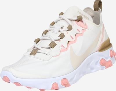Nike Sportswear Sneaker 'React 55' in beige / rosa / weiß, Produktansicht