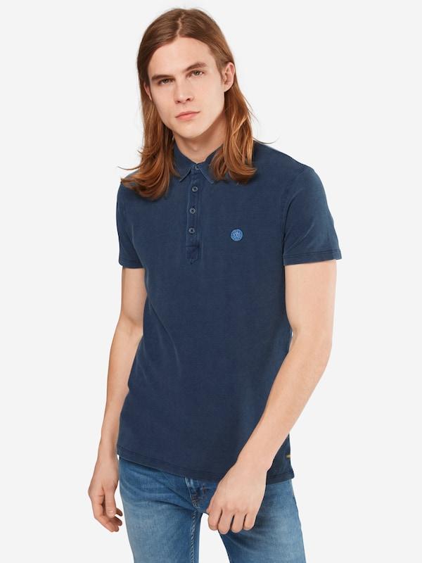 Mavi Poloshirt mit Marken-Badge