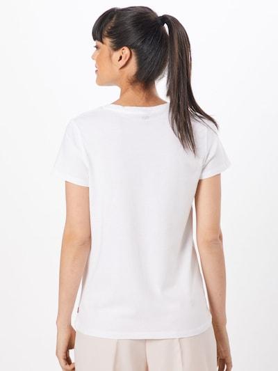 LEVI'S Shirt in altrosa / schwarz / weiß: Rückansicht