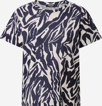 SOAKED IN LUXURY T-Іhirt in schwarz / weiß, Produktansicht