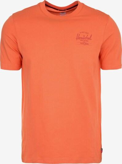 Herschel T-Shirt in koralle, Produktansicht