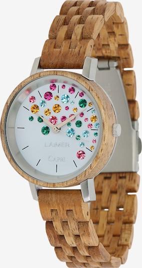 LAiMER Uhr 'Capri' in ocker, Produktansicht