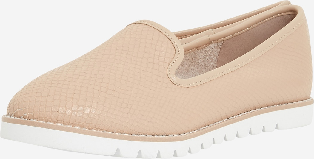 Dune LONDON Slipper 'GALLEON' - béžová / cappuccino / bílá, Produkt