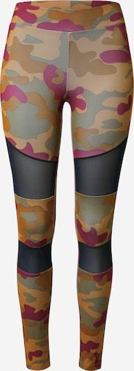 barna / világosbarna / khaki / bordó Urban Classics Curvy Leggings, Termék nézet