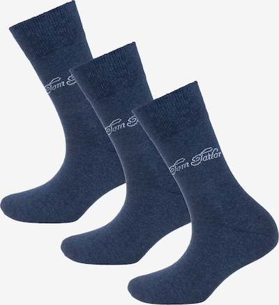 TOM TAILOR Socken in blau / weiß, Produktansicht
