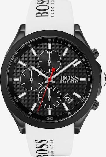 BOSS Casual Uhr in schwarz / weiß, Produktansicht
