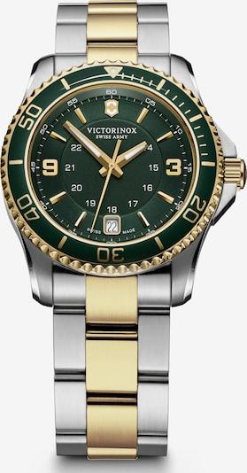 VICTORINOX Uhr 'Maverick Small' in gold / smaragd / silber, Produktansicht