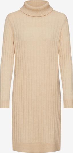 Y.A.S Gebreide jurk 'CAMPUS' in de kleur Beige / Crème, Productweergave