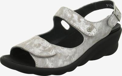 Wolky Sandale in hellgrau / weiß, Produktansicht