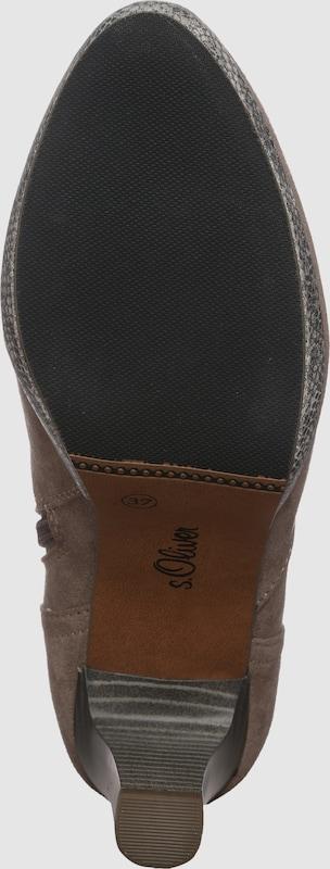 s.Oliver RED LABEL Ankle Boot in Veloursleder-Optik