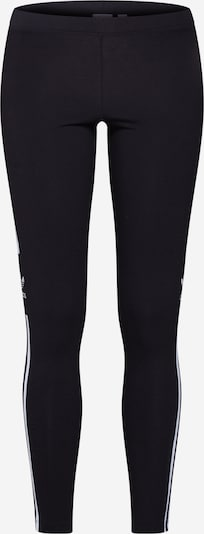 ADIDAS ORIGINALS Leggings i svart / vit, Produktvy