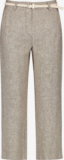 GERRY WEBER Hose Freizeit verkürzt Culotte aus Leinen in grau, Produktansicht