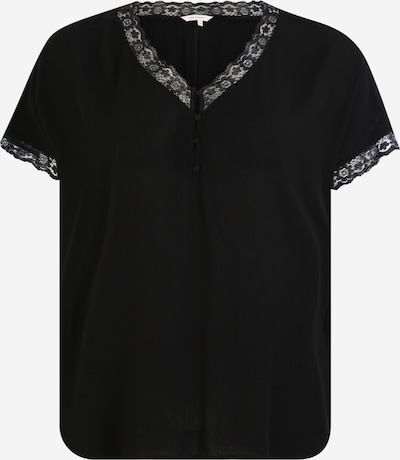 ONLY Carmakoma Bluza | črna barva, Prikaz izdelka