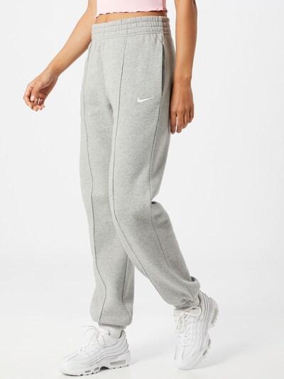Nike Sportswear Kalhoty - světle šedá, Model/ka