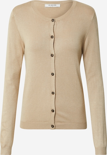 PIECES Strickjacke 'ESERA' in beige, Produktansicht