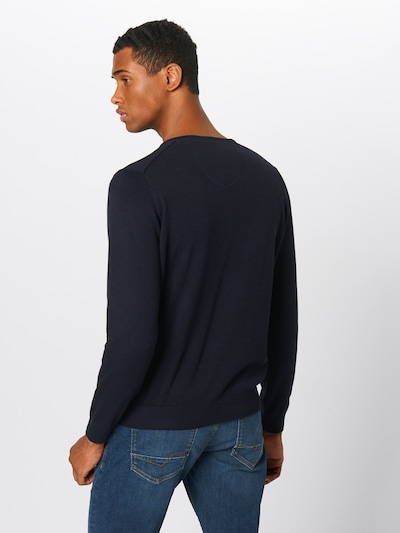 FYNCH-HATTON Pullover in navy: Rückansicht