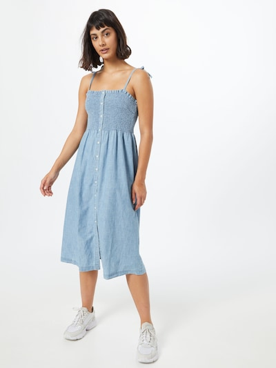 GAP Kleid in hellblau, Modelansicht