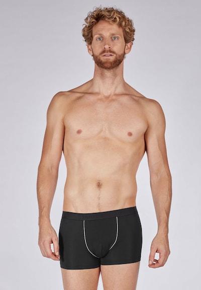 HUBER Pants in schwarz, Modelansicht