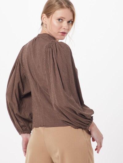 Samsoe Samsoe Bluzka 'Harriet' w kolorze brązowym: Widok od tyłu