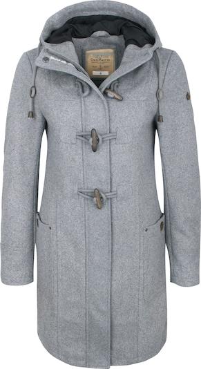 DREIMASTER Manteau mi-saison en gris, Vue avec produit