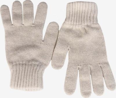 Zwillingsherz Kurzfingerhandschuhe in beige, Produktansicht