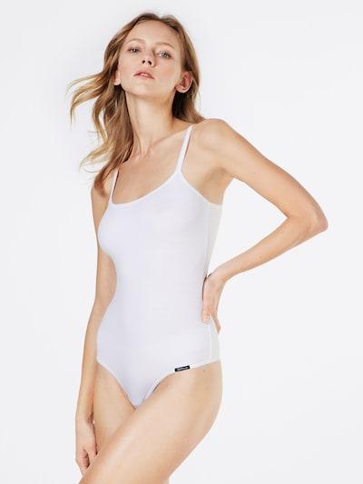 Skiny 'Body   Collection' Stringbody in weiß: Frontalansicht