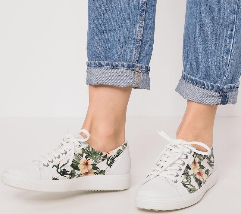 ECCO   Sneakers  White Soft 1 White  Droid cfac6c
