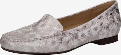 SIOUX Slipper 'Zalla' in silber / weiß, Produktansicht
