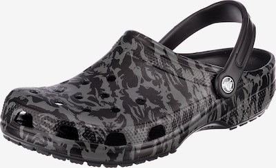 Crocs Classic Printed Camo Clog Clogs in grau / schwarz, Produktansicht