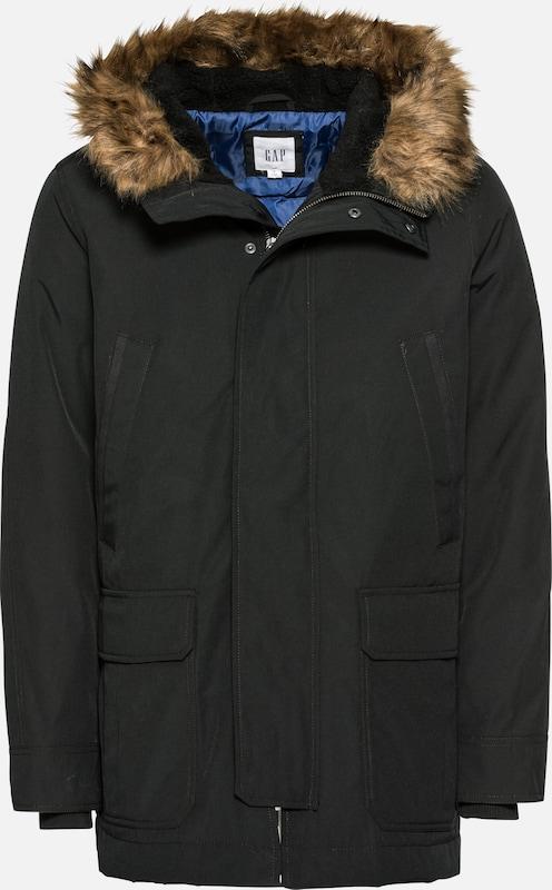 En 'tb Noir Snorkel Gap D'hiver Fur' Veste orCedBx