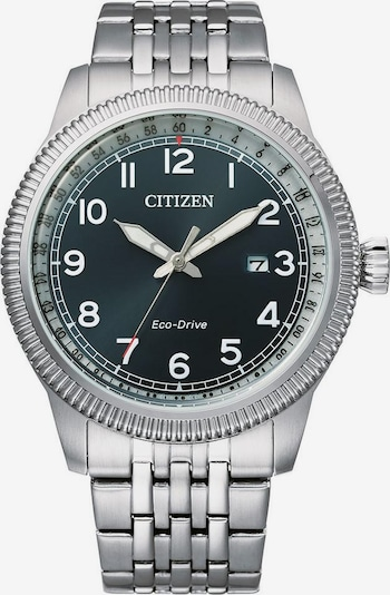 CITIZEN Uhr in tanne / silber / weiß, Produktansicht