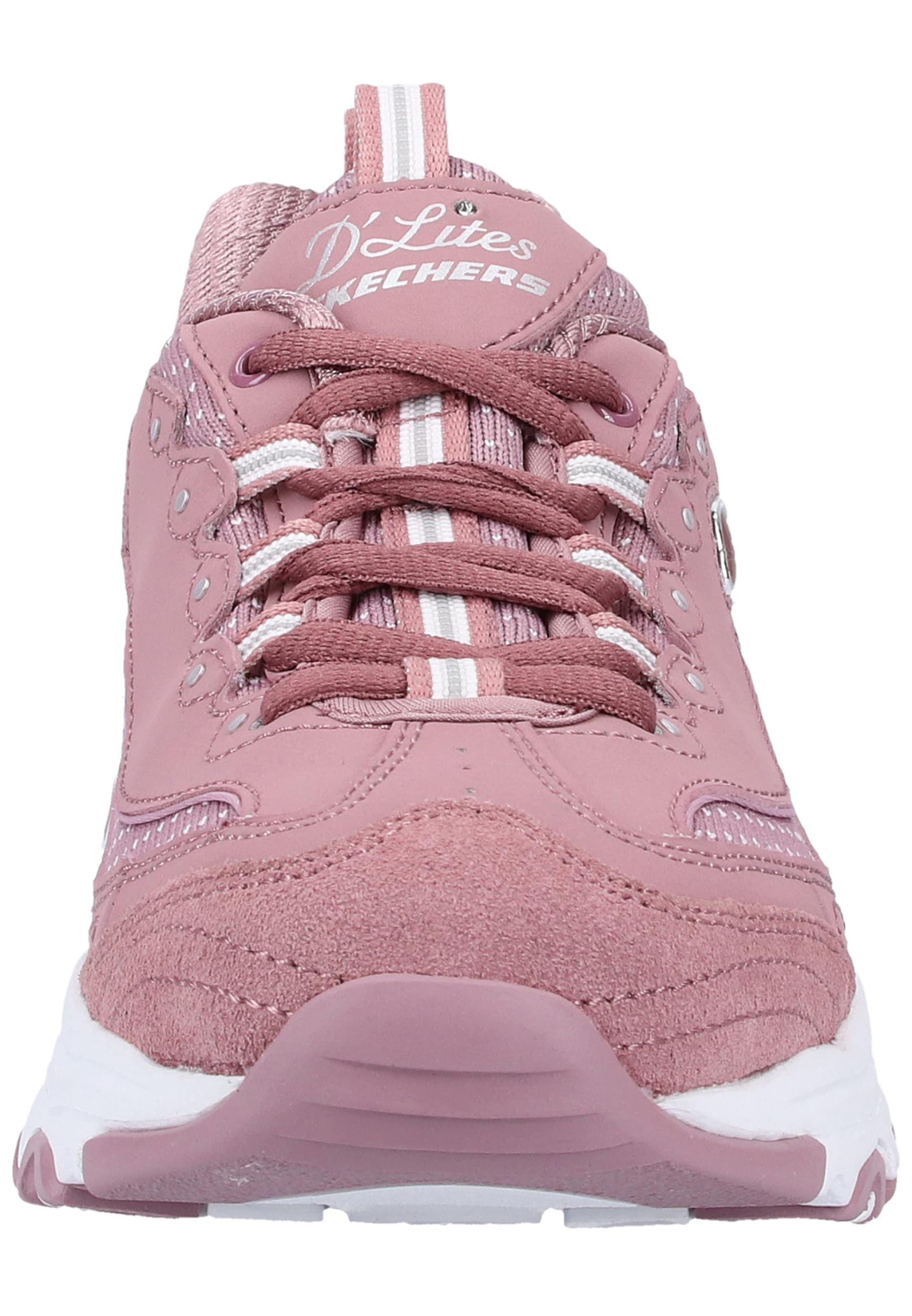 Skechers Baskets Basses 'd Blanc Lites' En Clair PitayaRose dCrBhQtxs