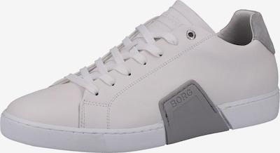 BJÖRN BORG Sneaker in dunkelgrau / wollweiß, Produktansicht