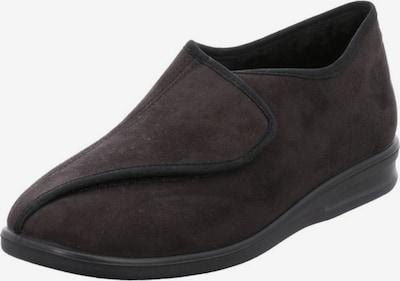 ROMIKA Huisschoen in de kleur Donkerbruin, Productweergave